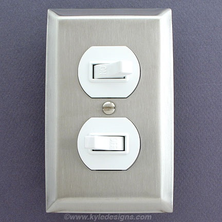 Stainless Steel Light Switch Plates, Outlet Covers, Rocker