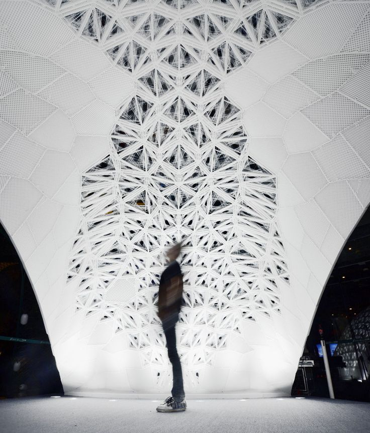 VULCAN: the world's largest 3D printed architectural pavilion