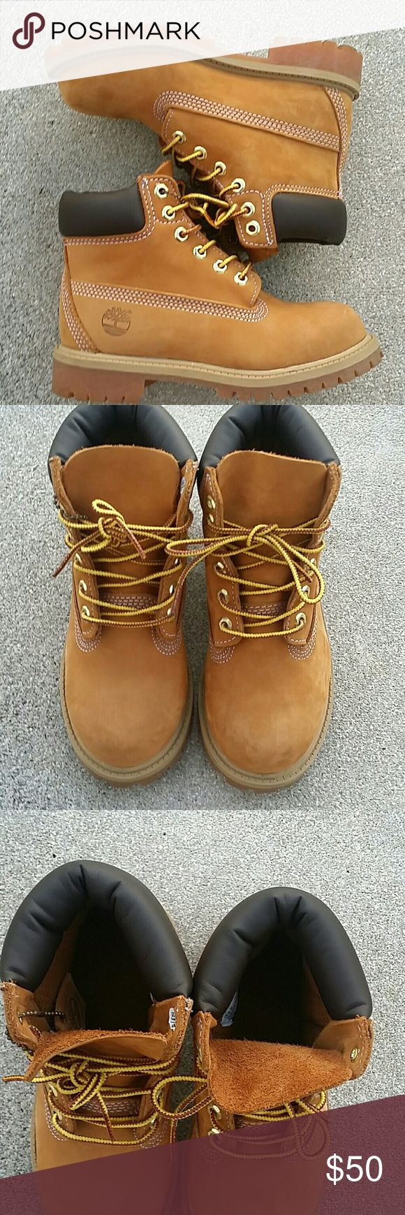 Boy's Timberland Boots Boy's Timberland Boots size 13.5 M Timberland Shoes