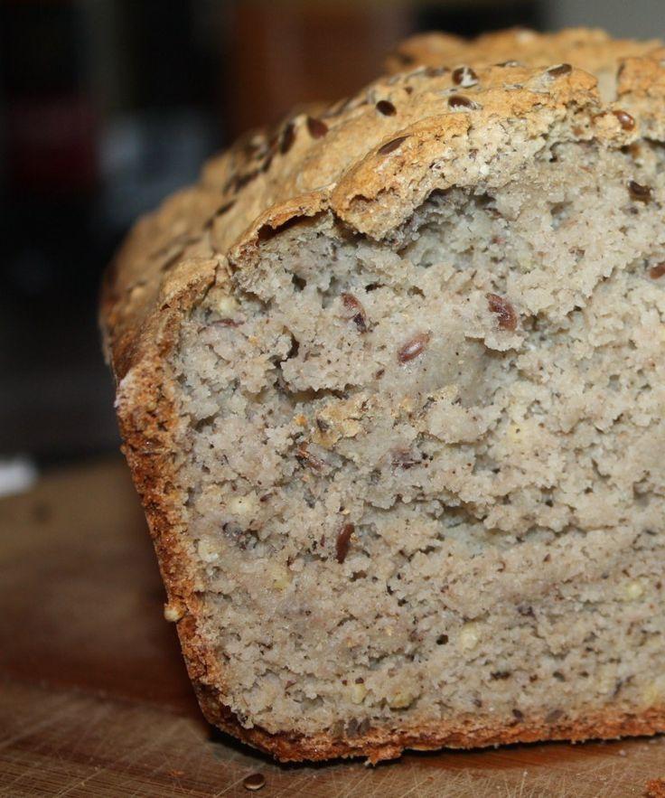 Pain au sarrasin et aux graines de sésame (sans gluten ni produit laitier)