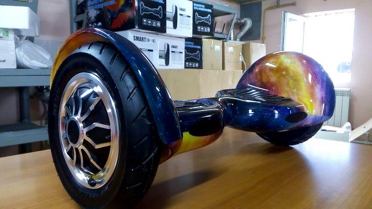 """Оригинальный Гироскутер  Новосибирск  Продам оригинальный гироскутер Smart Balance 10"""" SUV самобаланс батарея самсунг. приложение на телефон Тао Тао, мощность 1000вт. улучшенная модель 2017г. Доставлю."""
