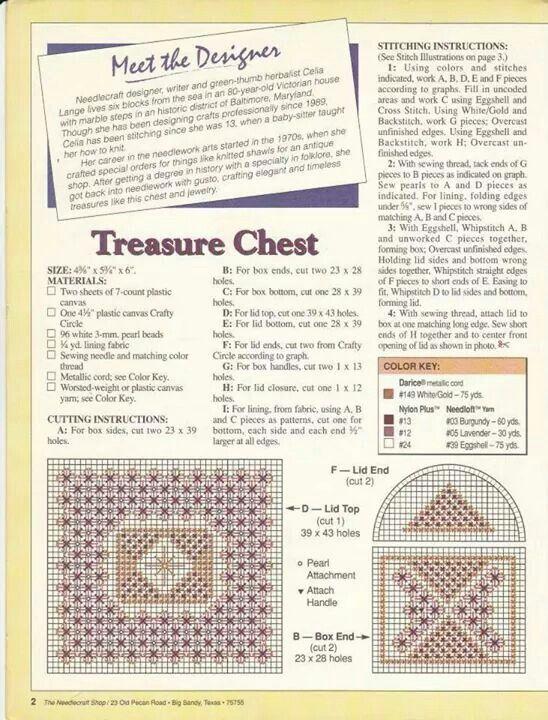 Treasure chest jewelry and box