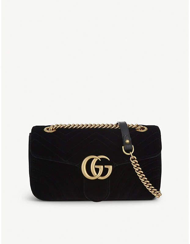 dcf325763819 Gucci Marmont small velvet shoulder bag #gucci #ShopStyle #MyShopStyle  click link for more information
