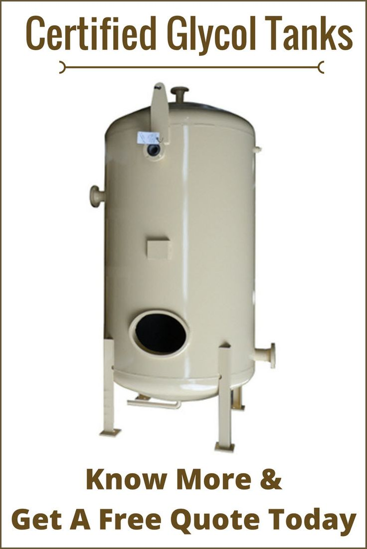 WE are leading supplier of Glycol storage tank.