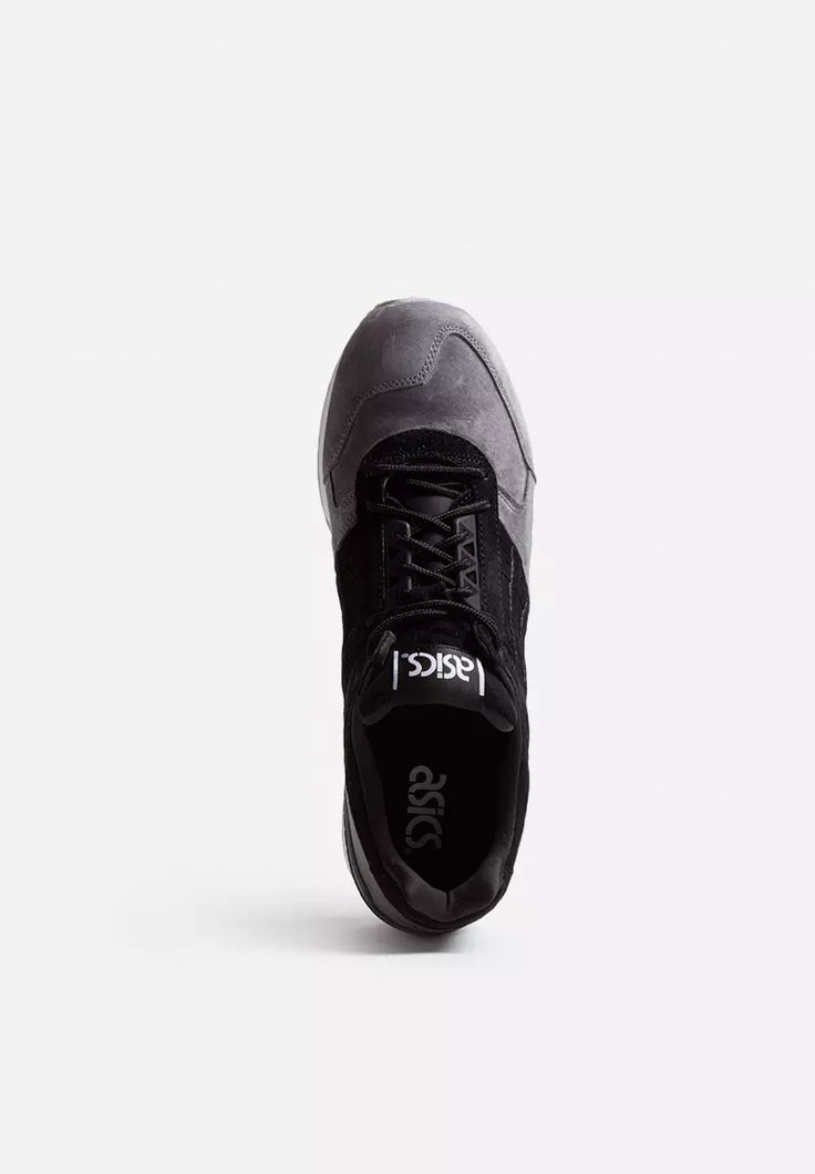 When in doubt, go for dark tones. This standout sneaker has a beautiful black suede upper with panel overlays, the Asics side stripe, and a black midsole. It also features the signature gel-cushioning technology that makes ASICS so famously comfortable. A beautiful, versatile design for all seasons, prepare to catch some admiring eyes your way when wearing these.