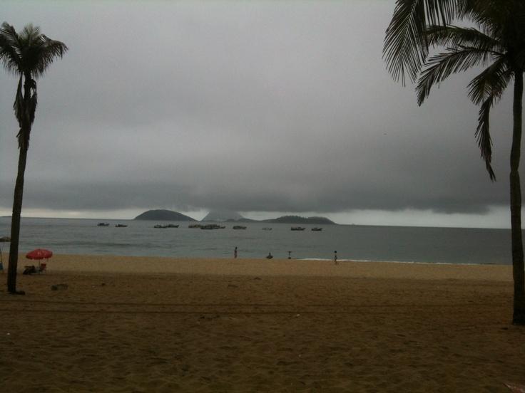 Ilhas Cagarras, manhã 04 março 2012