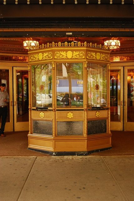 Beacon Theater Ticket Booth, via Flickr. | Old movie house ticket ...