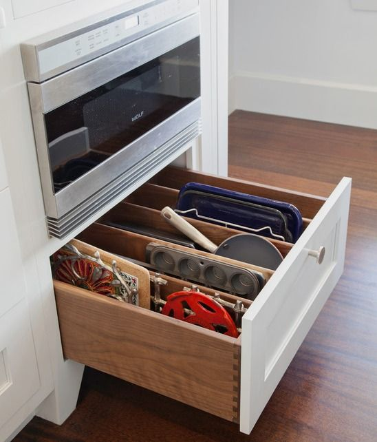 Storage for Cookie Sheets