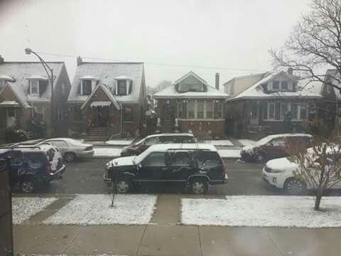Primer nieve CHICAGO