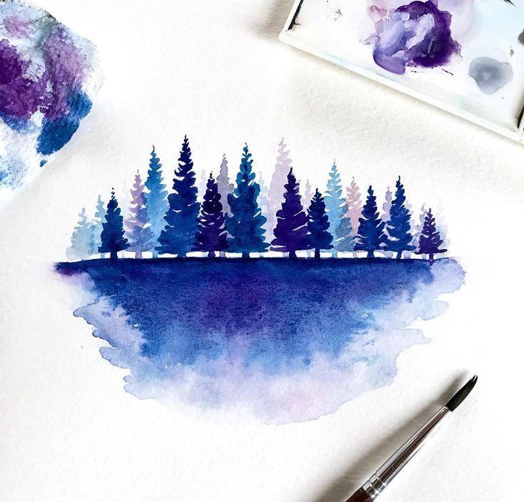 Как сделать снег на картинки из акварельных карандашей, фотооткрытку