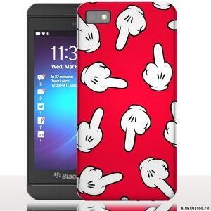 Coque blackberry z10 Fuck - Housse rigide pour téléphone portable. #BlackBerry #Z10 #Fuck #Coque