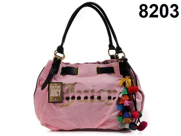 2012 New Juicy Couture Wool Dropping Handbag Pink i find a new site have amazing price $63.00?yes