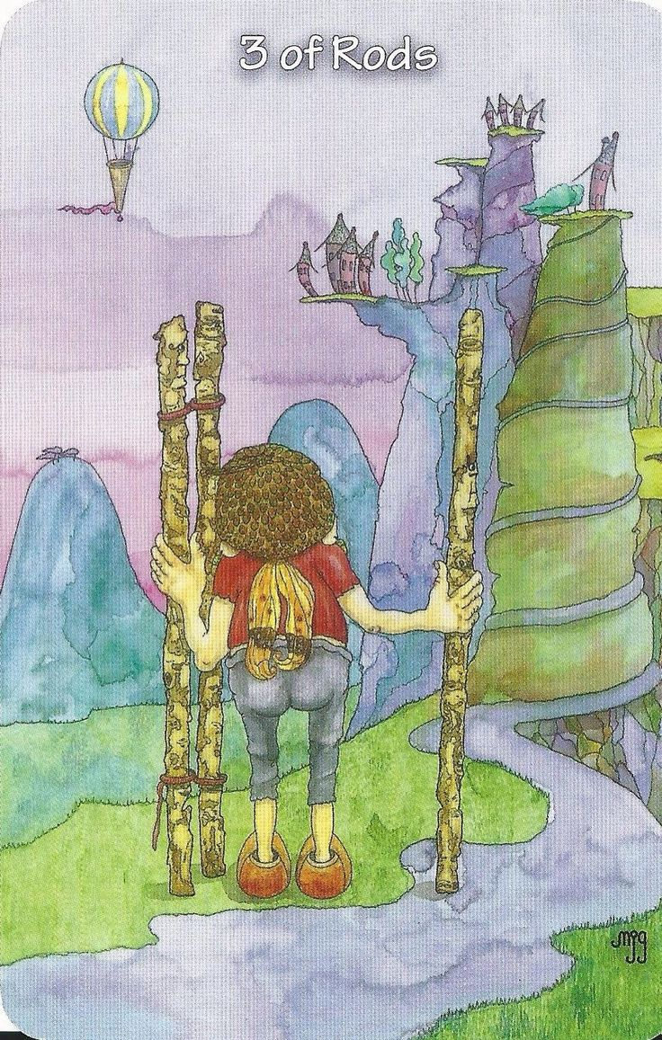 Card of the Day - 3 of Wands - Monday, September 28, 2015