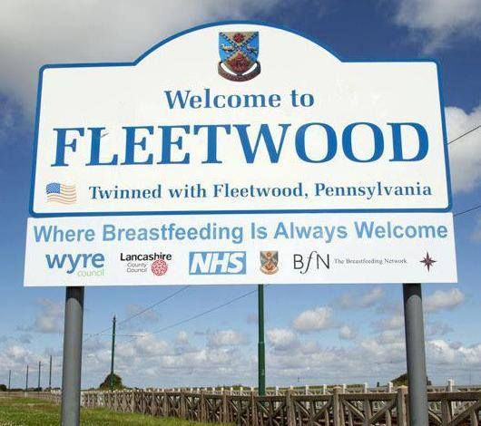 That's nice of you, Fleetwood, but the law says I can breastfeed there anyway ;)