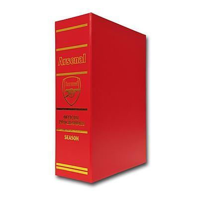 Arsenal Undated Programme Binder