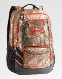 UA Camo Hustle Backpack. Pack it up and get it done. #FathersDay