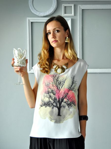 Printed Top  from Hanna Boutique by DaWanda.com