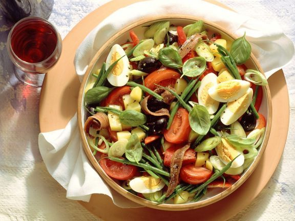 Griechischer Salat Jamie Oliver