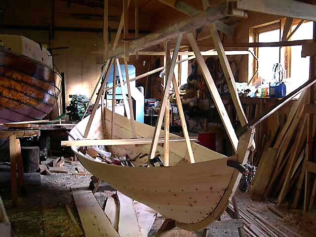 How to build a Viking ship - Basic elements of Norse wooden boat construction - homepage of Jørn Løset, Norway