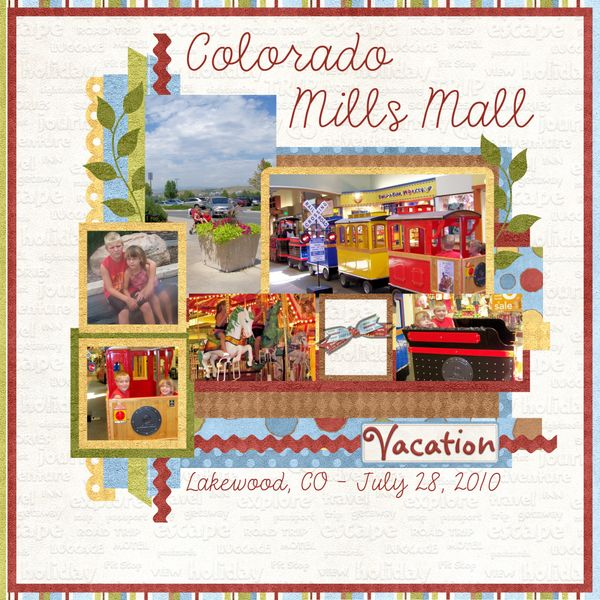 Colorado Mills Mall: 20 Best Scrapbook Pages Images On Pinterest