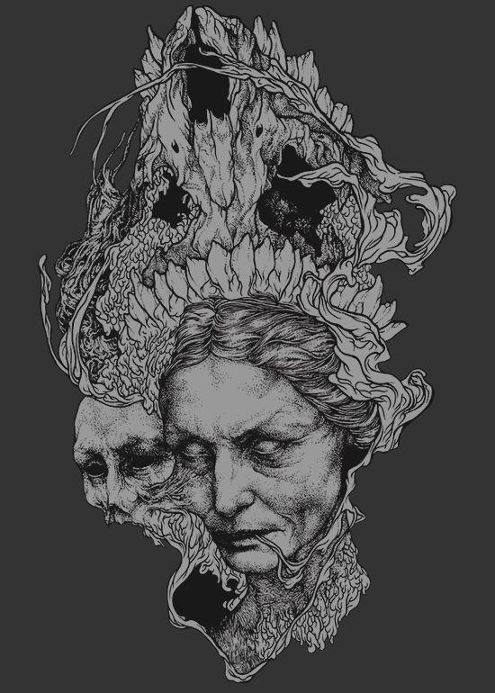 Old Witch by Waldez Snegotskiy, via Behance