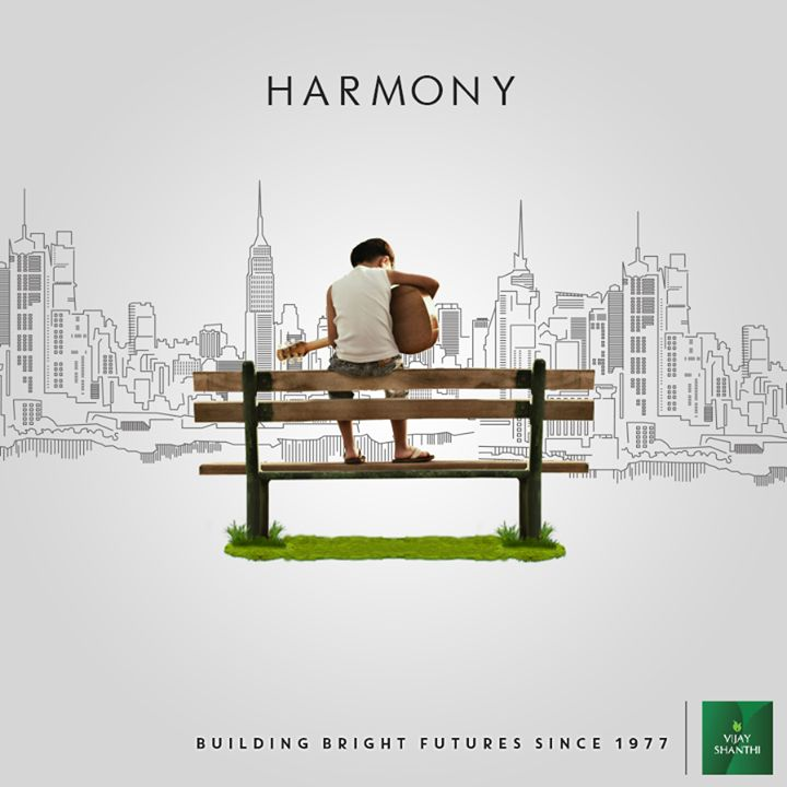 Vijay Shanthi Builders- Building bright futures since 1977 #Harmony