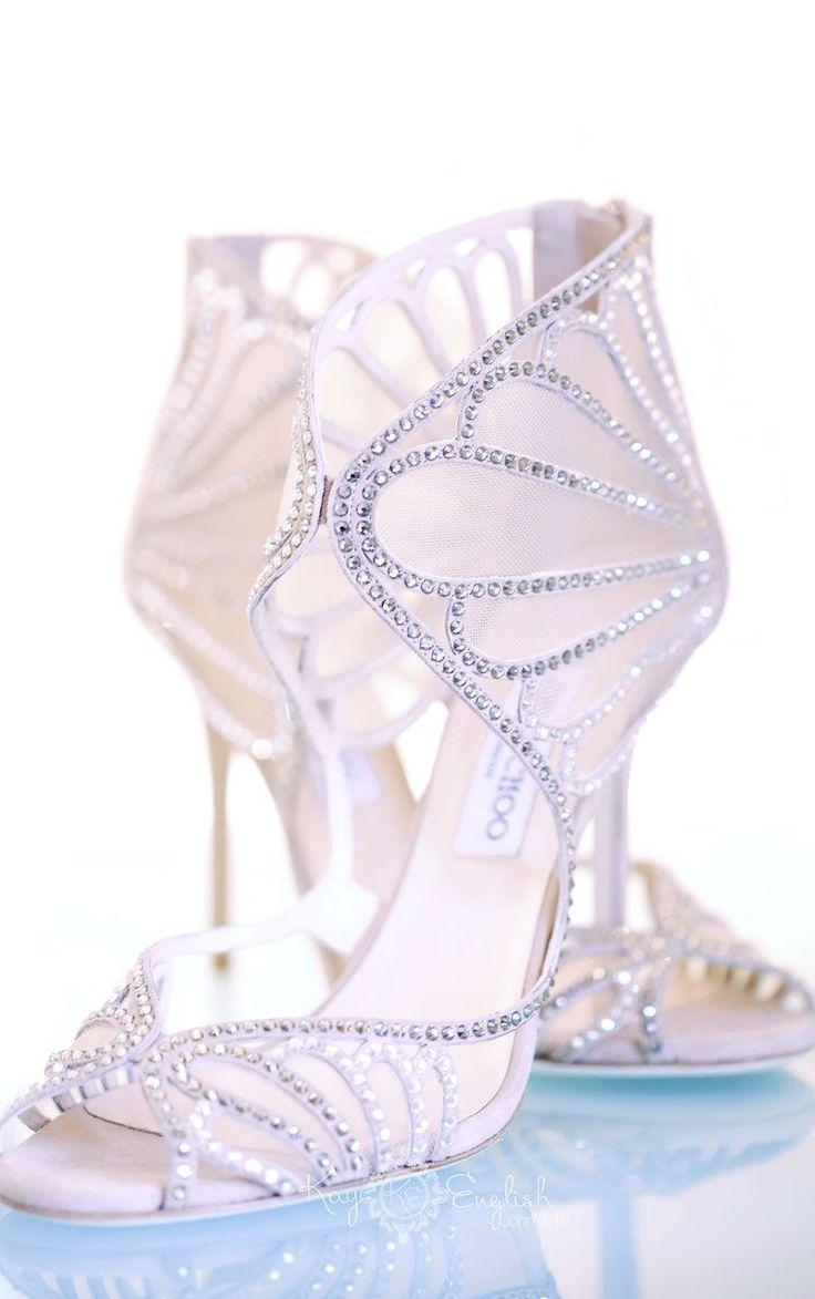 Jimmy Choo wedding shoes by www.kayenglishphotography.com