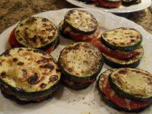 Recept gehaktballetjes in tomatensaus en courgette tomaten torentjes - Hobby