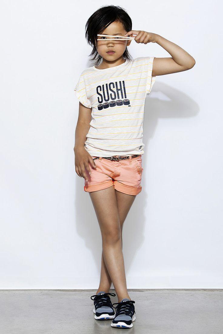 Kindermode Japanse Stijl : Sushi t-shirt | CKS zomer 2014 | www.kienk.nl
