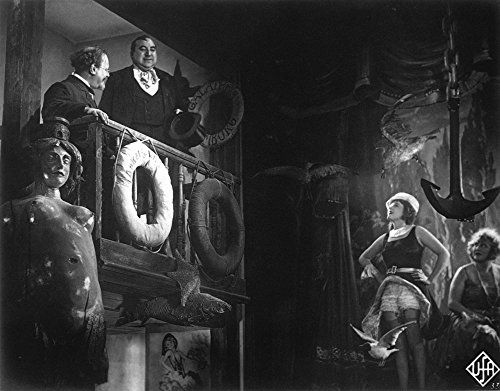 Marlene Dietrich, Kurt Gerron, and Emil Jannings in Der blaue Engel (1930)