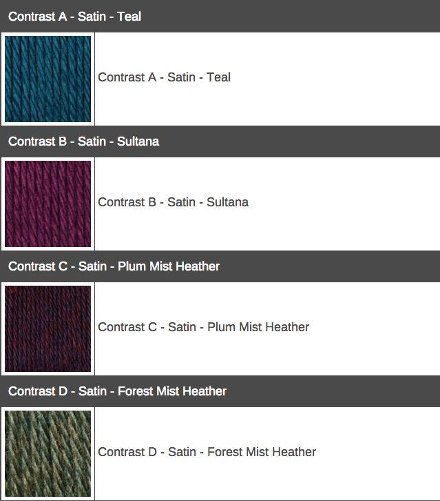 2015 Mystery Afghan KAL/CAL - Crochet Color Combos - Yarnspirations Blog