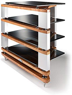 HIFICRITIC REVIEW: Naim's modular Fraim high fidelity audio racking system is much more than a simple 'me too' product, as Martin Colloms discovers. See review at www.EnjoyTheMusic.com/magazine/equipment/1014/naim_fraim.htm
