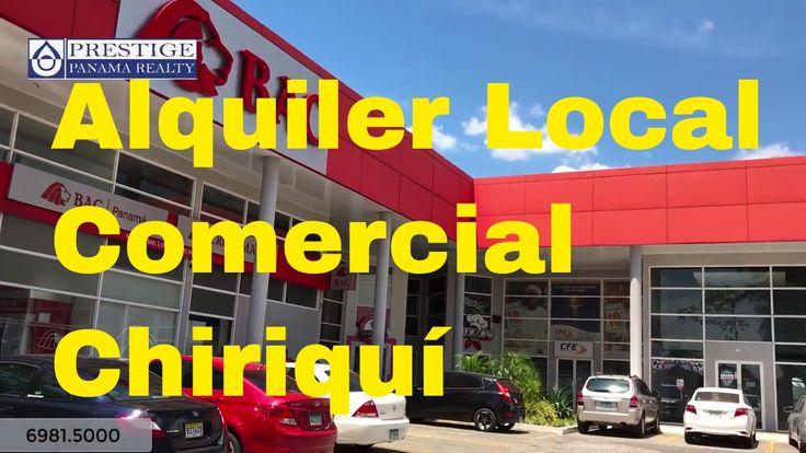 Alquiler de locales comerciales en la Avenida Obaldia. David Prestige Pa...
