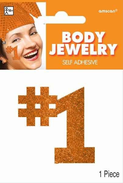 Orange #1 Body Jewelry | 1 Piece