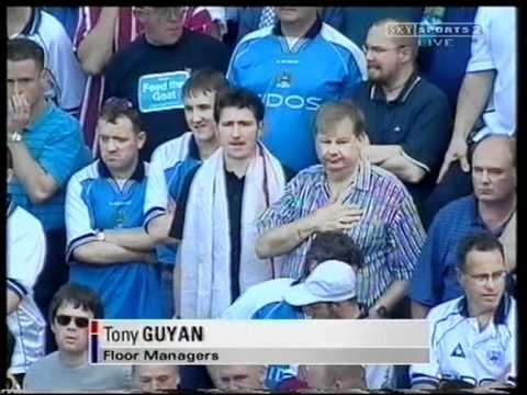 Blackburn 1 Manchester City 4 Promotion 2000