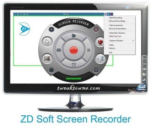 ZD Soft Screen Recorder 9.1 Keygen & Crack Free
