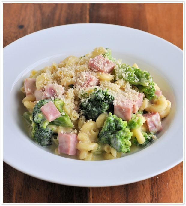 Ham, Broccoli and Cheesy Cheddar Macaroni - One Pot Dish (drop the ham ...