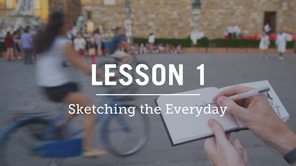 urban sketching course