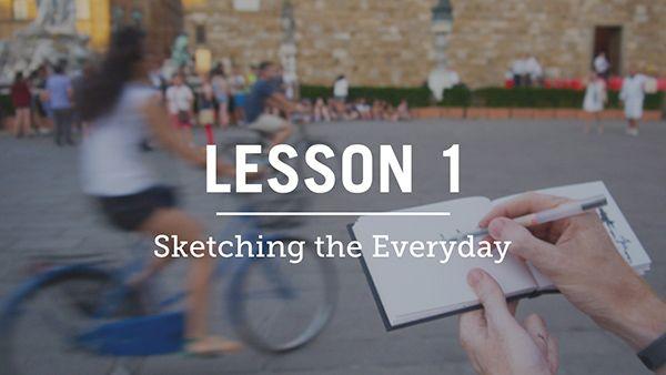 urban sketching course