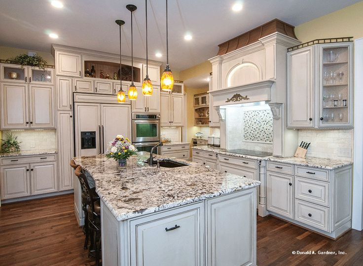 The Birchwood House Plan   Kitchen