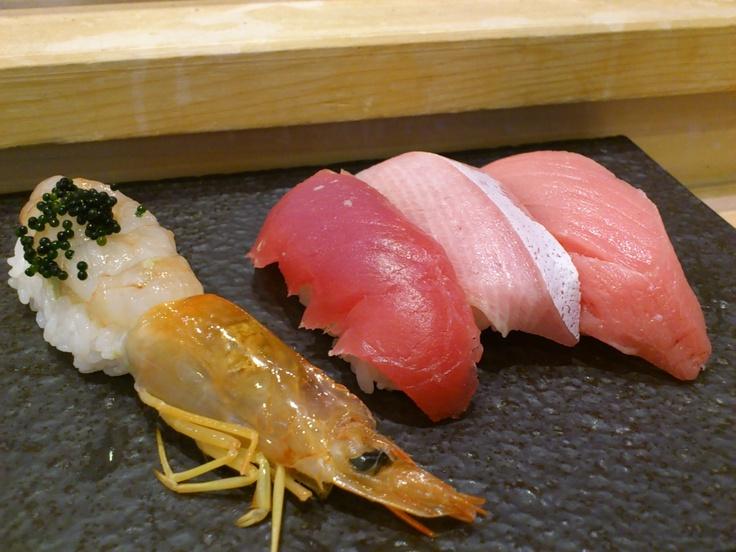at Midori Sushi in Akasaka.