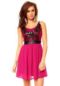 Koktejlové šaty - růžové