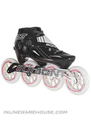 Bont Cheetah Inline Speed Skates Black 3pt Mount