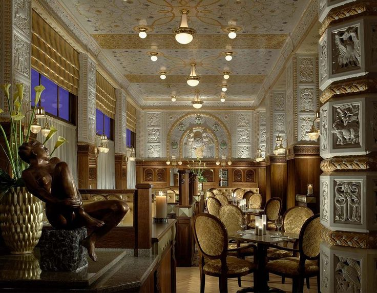 Art Deco Imperial Hotel - Prague  - Hard to resist for a such decor... ! !