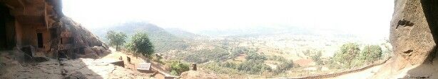 The view of the valley from bhaja