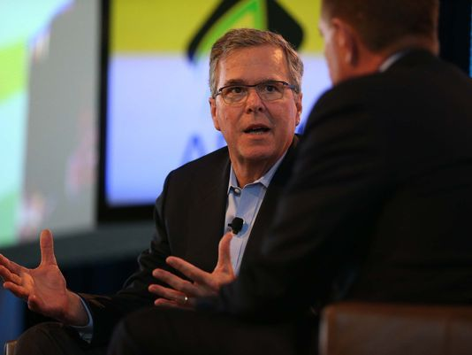 Jeb Bush was supposed to be the frontrunner in the 2016 Republican Presidential Campaign. Instead, he's quickly turning himself into a pariah in the GOP. He has decided to forego the Iowa Straw Poll, the official starting line in the 2016 campaign. At the Straw Poll, the top GOP candidates pay more than a few big bucks to have the chance to spew propaganda and bigotry to crowds that were paid to attend. Jeb's decision to stay away has riled the Republican leadership and the Koch Brothers.