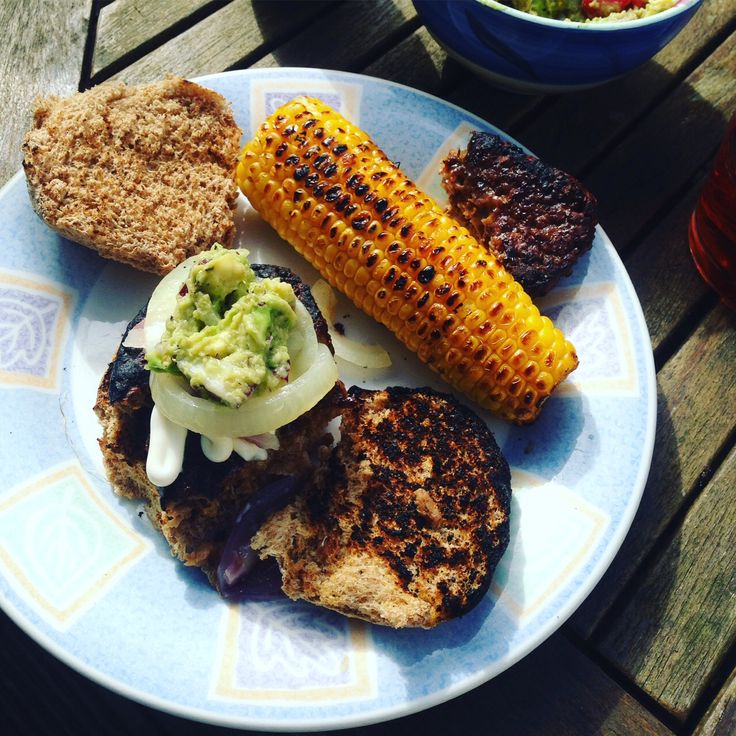 Why not try veggie bbq? #veggiebbq #summer