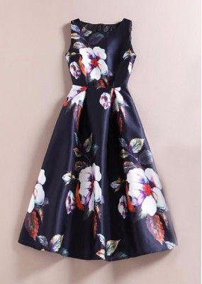 Office Wear Readymade Black Western Wear Dress - 101025