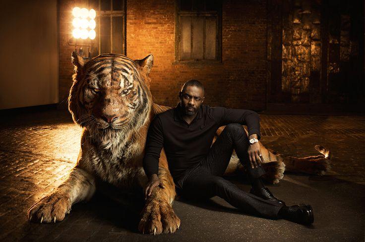 Idris Elba as Shere Khan: The Jungle Book Cast Portraits