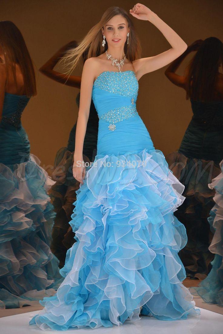 201 best Prom Dresses images on Pinterest | Party wear dresses ...